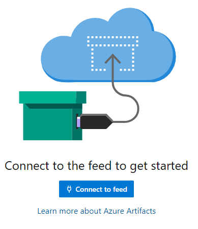 Azure Artifacts - Connect to the Feed